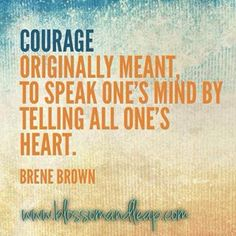 brene brown courage